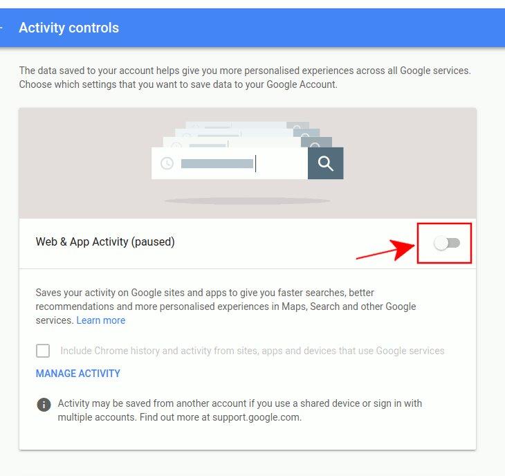 Thủ thuật vô hiệu hóa Google theo dõi vị trí của bạn 4