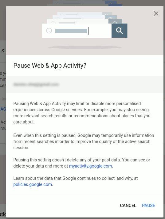Thủ thuật vô hiệu hóa Google theo dõi vị trí của bạn 5