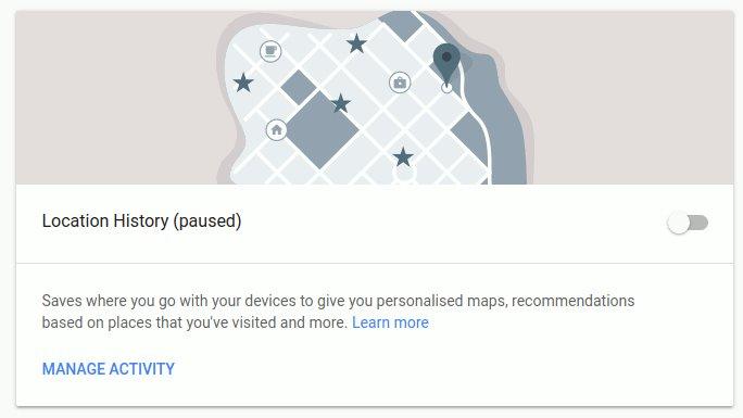 Thủ thuật vô hiệu hóa Google theo dõi vị trí của bạn 6