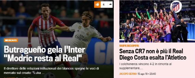 Atletico đoạt Siêu cúp: Báo thế giới xoáy sâu nỗi đau Real mất Ronaldo - 3