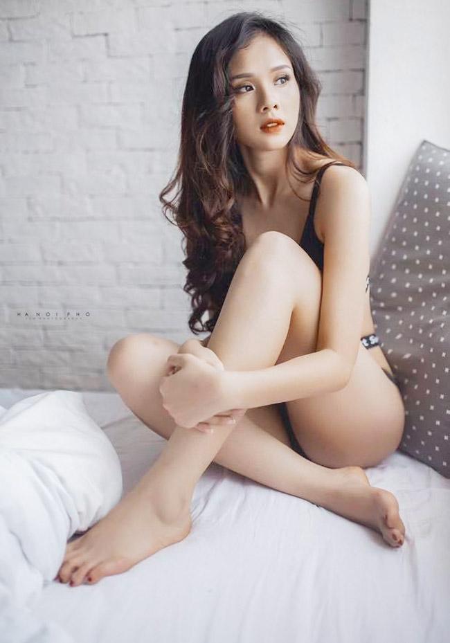 Bạn gái Trọng Đại, Văn Thanh (U23 VN) mặc gợi cảm nhất dàn bồ cầu thủ - hình ảnh 4