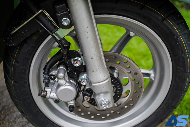 Đánh giá toàn diện Yamaha Grande Hybrid xanh ngọc bích - 11