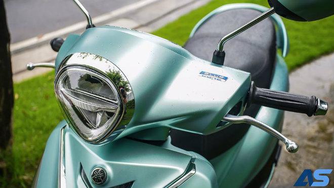Đánh giá toàn diện Yamaha Grande Hybrid xanh ngọc bích - 7