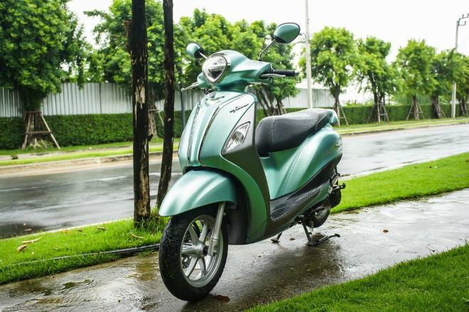 Đánh giá toàn diện Yamaha Grande Hybrid xanh ngọc bích - 1