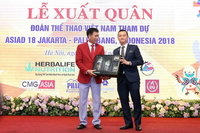 Đoàn thể thao Việt Nam hừng hực khí thế ngày xuất quân lên đường thi đấu ASIAD 18 - 4