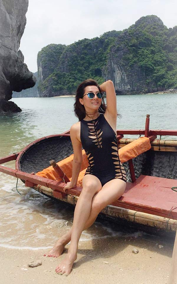 MC Nguyễn Cao Kỳ Duyên mặc bikini quá nóng bỏng khiến gái 20 phải nể - hình ảnh 6