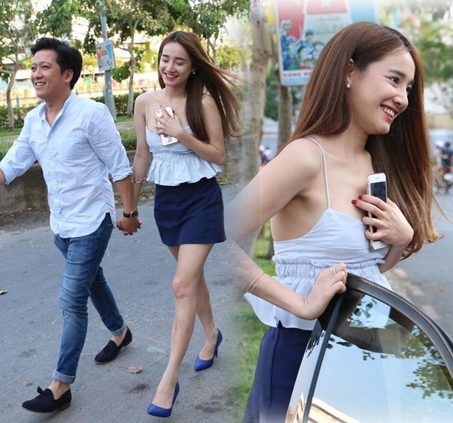 Vợ Trường Giang, Trấn Thành mặc khoe eo, giấu quần cực gợi cảm - hình ảnh 4