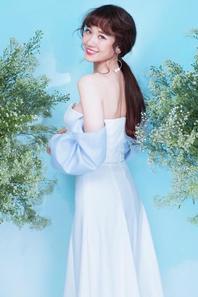 Vợ Trường Giang, Trấn Thành mặc khoe eo, giấu quần cực gợi cảm - hình ảnh 16
