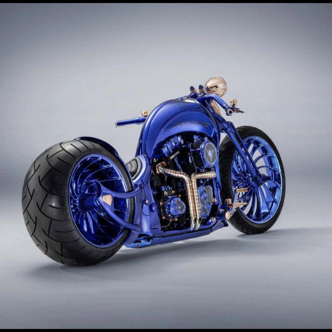 Cận cảnh cực phẩm Harley Davidson giá 44,2 tỷ đồng, đắt nhất thế giới - 1
