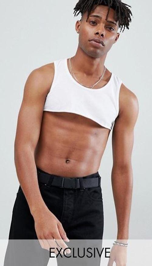Hãng thời trang gây sốc khi bán áo 5cm cho…đàn ông - hình ảnh 3