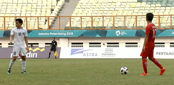 Kết quả bóng đá U23 Uzbekistan - U23 Hong Kong: Tấm thẻ đỏ & 3 đòn chí mạng - 1
