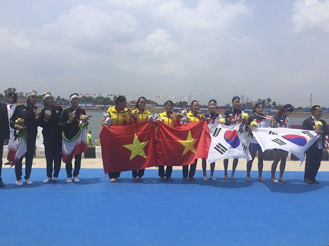 Các cô gái rowing VN ẵm HCV ASIAD: Từng đi phụ hồ, có người không biết bơi - 13