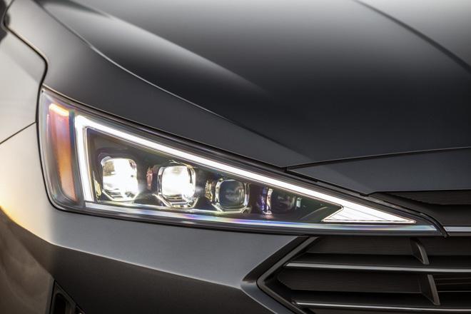 Hyundai Elantra 2019 chính thức ra mắt với thiết kế hoàn toàn mới - 12
