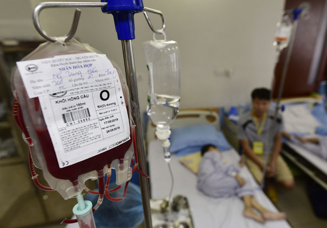 """Ảnh: Bên trong """"ngân hàng máu"""" lớn nhất Việt Nam - 15"""