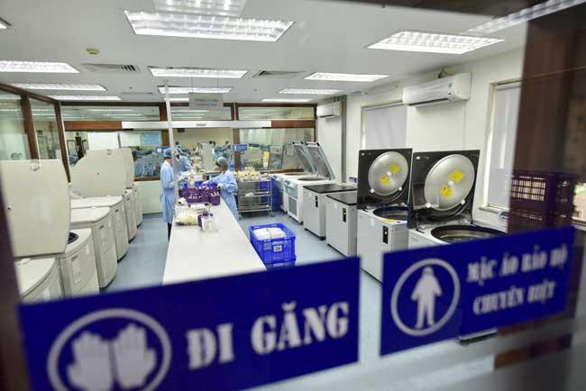 """Ảnh: Bên trong """"ngân hàng máu"""" lớn nhất Việt Nam - 16"""
