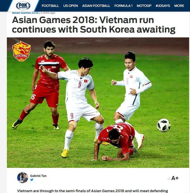 U23 VN hạ Syria, bán kết ASIAD: Chấn động châu Á, báo chí ngợi ca - 2