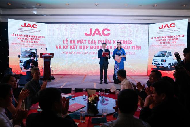 Ô Tô Jac Việt Nam ra mắt dòng xe tải Jac X Series mới - 2