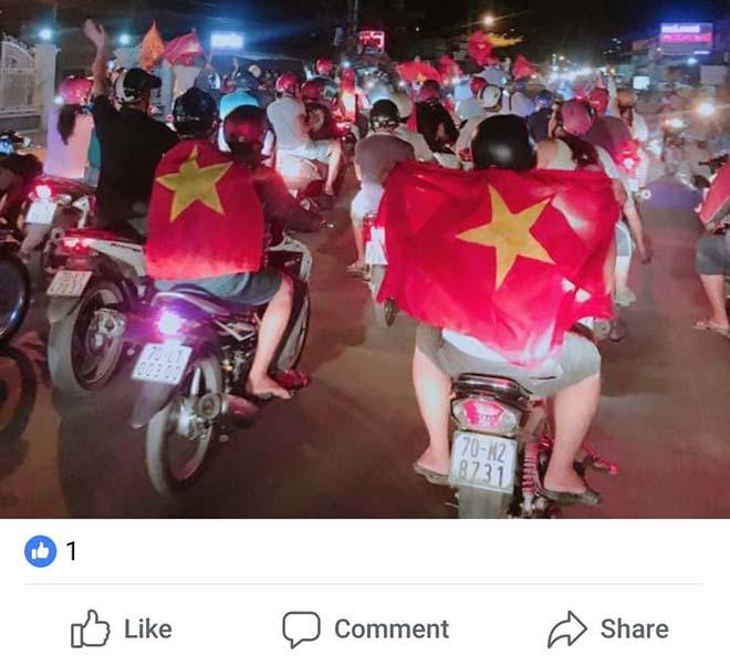 Kỳ tích U23 Việt Nam tại ASIAD 18: Cờ đỏ sao vàng ngập tràn Facebook - 4