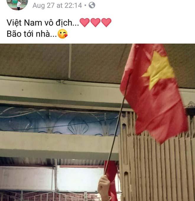 Kỳ tích U23 Việt Nam tại ASIAD 18: Cờ đỏ sao vàng ngập tràn Facebook - 2
