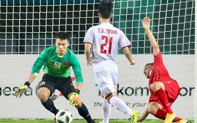 U23 Việt Nam chưa lọt lưới ở ASIAD: Thủ môn Tiến Dũng tiết lộ bí kíp đấu Hàn Quốc - 2