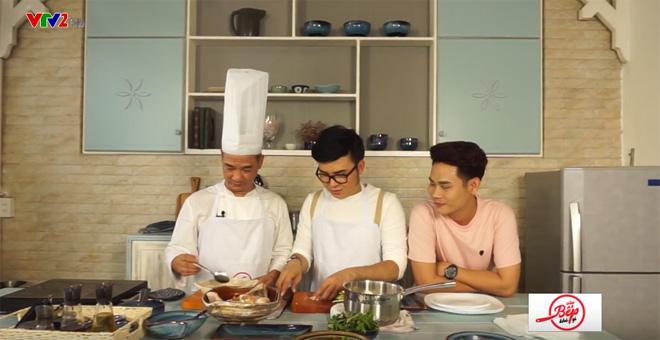 Tiko Tiến Công, Sơn Ngọc Minh trổ tài nấu ăn cùng Master Chef Phạm Tuấn Hải - 2