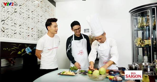 Tiko Tiến Công, Sơn Ngọc Minh trổ tài nấu ăn cùng Master Chef Phạm Tuấn Hải - 5