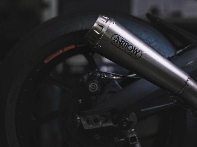 """2019 Triumph 765 Moto2 lộ diện, Honda CBR600RR """"ăn no khói"""" - 2"""