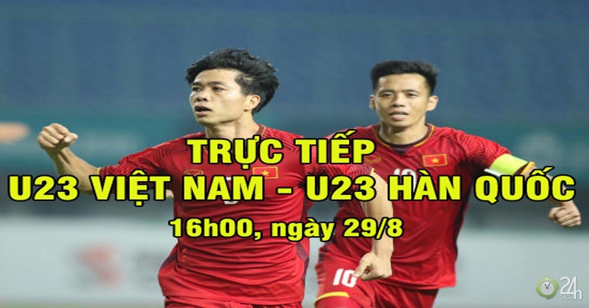 Chi tiết U23 Việt Nam - U23 Hàn Quốc: Dốc sức những phút cuối trận (KT)