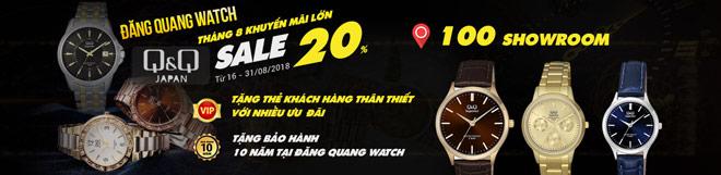 Tưng bừng khai trương cơ sở mới cùng nhiều ưu đãi từ Đăng Quang Watch - 5