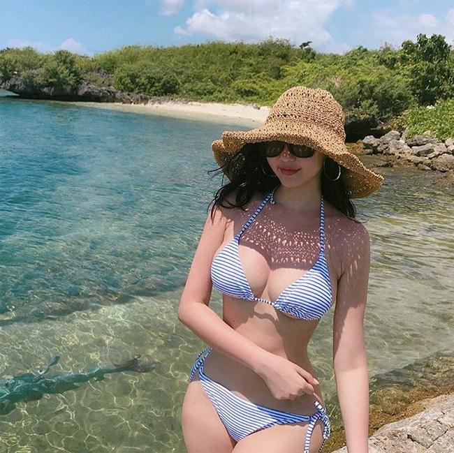 Hàn Quốc ngập tràn những cô gái bình thường vẫn mặc bikini đẹp như tượng - hình ảnh 13