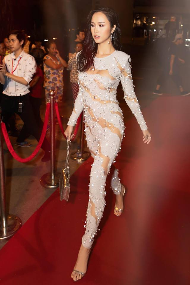 Vũ Ngọc Anh tiết lộ điều nguy hiểm sau chiếc váy quây trễ tràng - hình ảnh 5