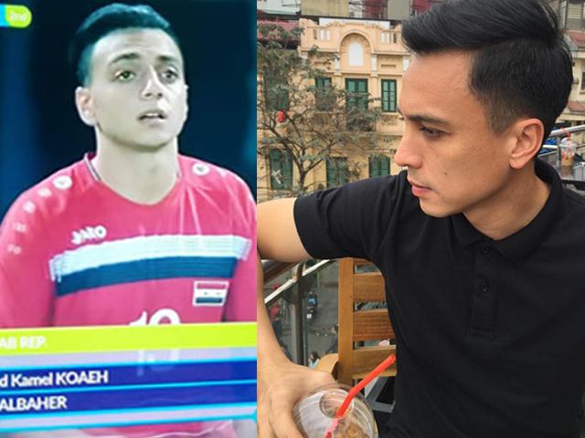 """Vợ cựu tiền vệ nhìn giống sao U23 Syria hóa ra là """"người quen"""" showbiz Việt - hình ảnh 1"""