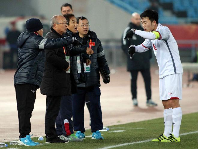 """Park Hang Seo lý giải Xuân Trường """"mất hút"""", muốn thắng UAE trong 90 phút - 3"""