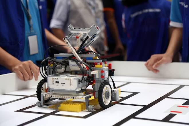 """Ngắm những """"siêu chiến binh"""" robot của Việt Nam sắp tranh tài quốc tế - 3"""