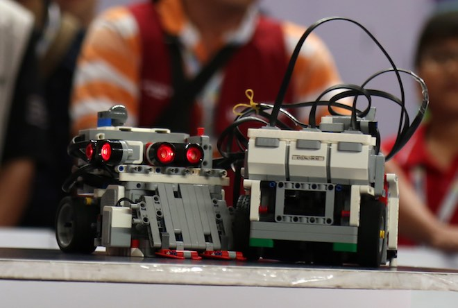 """Ngắm những """"siêu chiến binh"""" robot của Việt Nam sắp tranh tài quốc tế - 8"""