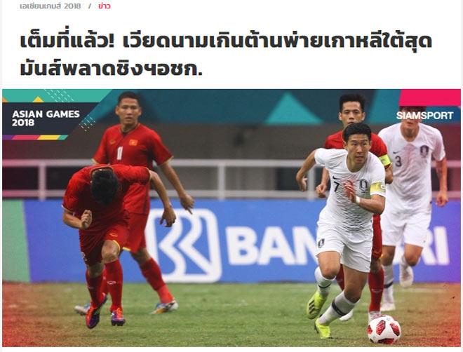 """Báo Thái Lan """"ghen tỵ"""" với U23 Việt Nam, chúc đoạt HCĐ lịch sử - 1"""