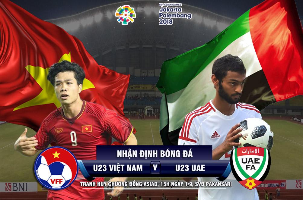 """Bóng đá ASIAD, U23 Việt Nam - U23 UAE: Vượt ải Tây Á mơ """"đệ tam anh hào"""" - 1"""