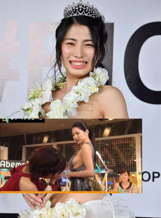 2 mẫu Nhật nóng bỏng vô tư làm điều xấu hổ trên truyền hình - hình ảnh 11