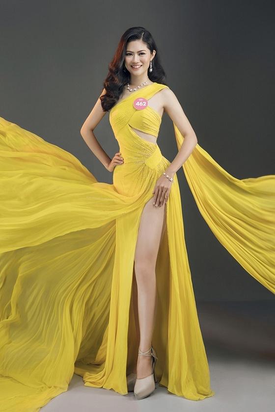 Thí sinh Hoa hậu Việt Nam 2018 tung ảnh dạ hội cực gợi cảm - hình ảnh 12