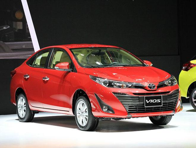 Giá xe Toyota cập nhật tháng 9/2018 - 1