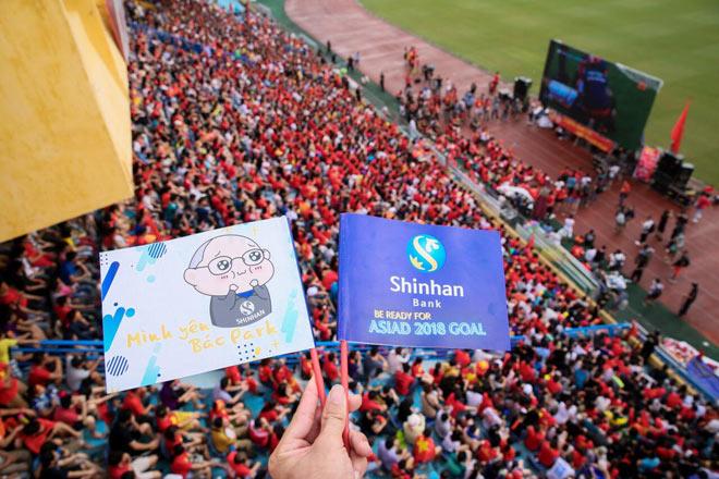 Shinhan đồng hành cùng Park Hang Seo và cổ động viên bóng đá Việt Nam - 5