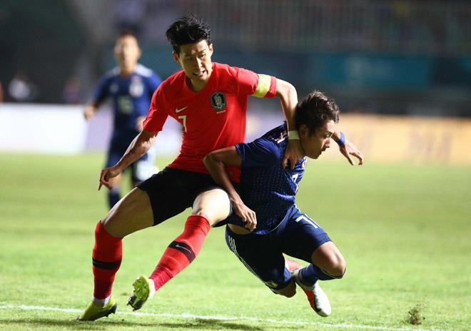 U23 Hàn Quốc - U23 Nhật Bản: Ngôi sao Son Heung Min, vỡ òa đoạt HCV - 10