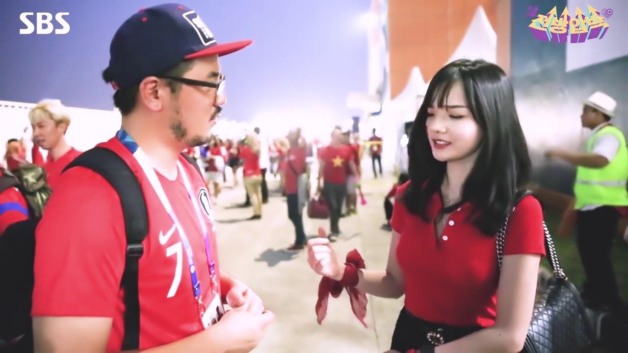 Nữ cổ động viên đẹp như thiên thần được săn lùng sau trận Việt Nam thua UAE - hình ảnh 3