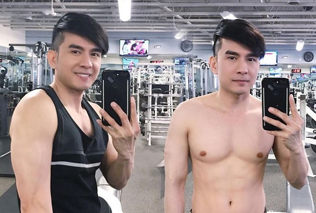 """Mê mệt thân hình """"cực phẩm"""" của Phan Đinh Tùng, Đan Trường ở tuổi 42 - hình ảnh 11"""