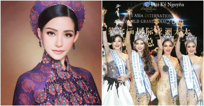 Người đẹp Việt thi chui nhan sắc quốc tế bất chấp bị phạt tiền - hình ảnh 5