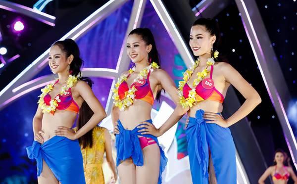Ngắm không rời mắt 3 mỹ nữ có thân hình nuột nà nhất Hoa hậu Việt Nam 2018 - hình ảnh 1