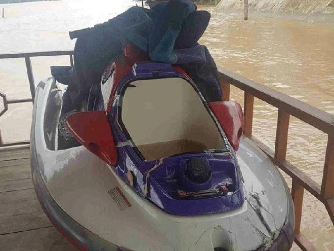 Du khách lái mô tô nước đâm vào tàu du lịch tử vong - hình ảnh 1