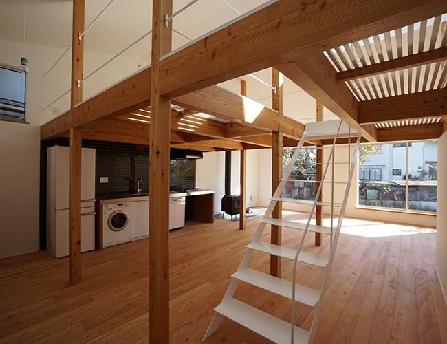 Thiết kế bằng gỗ kết hợp nét đẹp truyền thống vừa mang phong cách hiện đại.