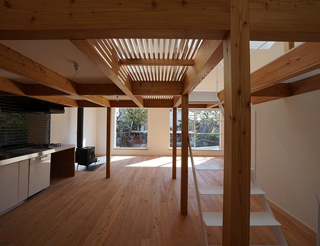Căn nhà thu hút sự chú ý của mọi người bởi tính độc đáo từ thiết kế.