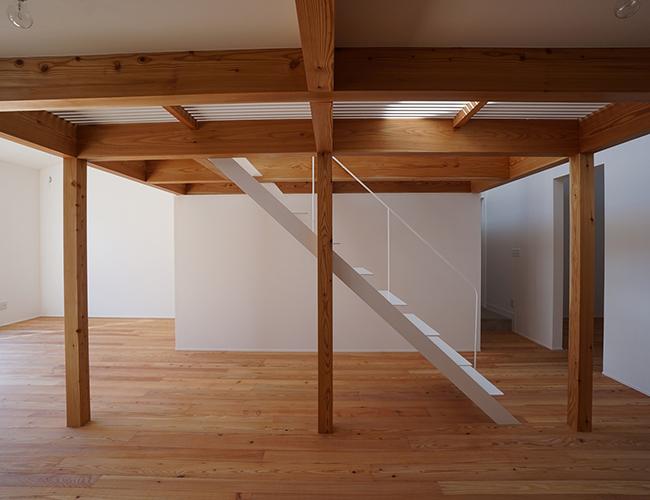 Thiết kế ngôi nhà mạch lạc và thống nhất ngay từ cách sắp xếp khối cục.